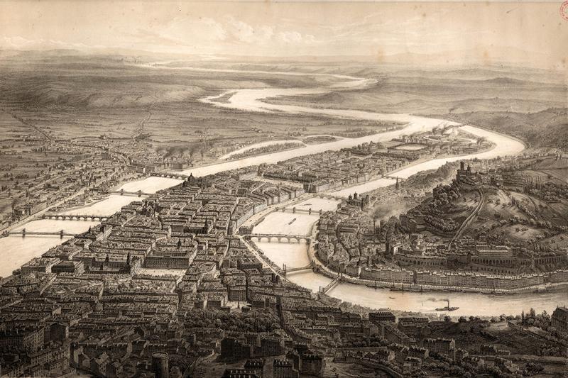 La ville de lyon au cours de l'histoire