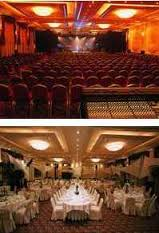 vues des salles de restaurant et spectacle du Lyon Vert