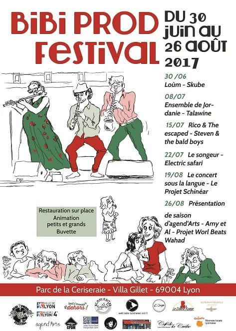 Festival organisé par Bibi prod parc de la ceriserai